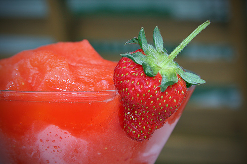 Strawberry Daiquiri at Fresh.co....