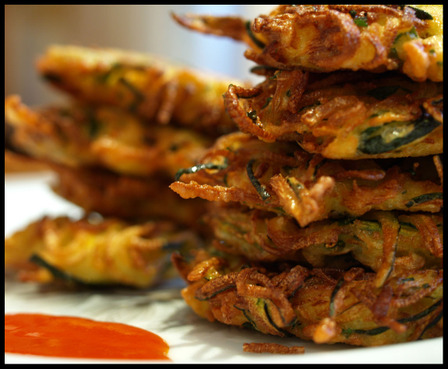 Zucchini Fritters at Fresh.co.nz