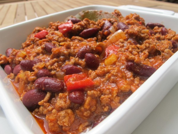 ... ve found an easy flavoursome chilli con carne dish to treat yourself