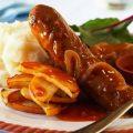Devilled Sausages