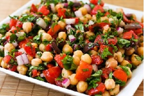 Chickpea Salad – Greek Style at Fresh.co.nz