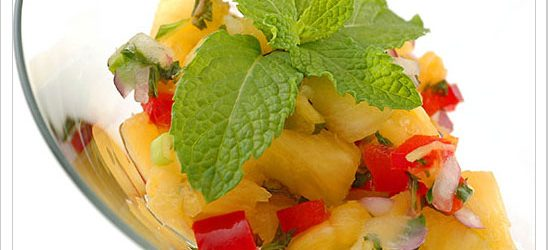pineapple-mint-salsa