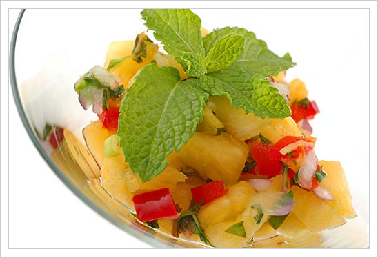 Spicy Pineapple and Mint Salsa at Fresh.co.nz