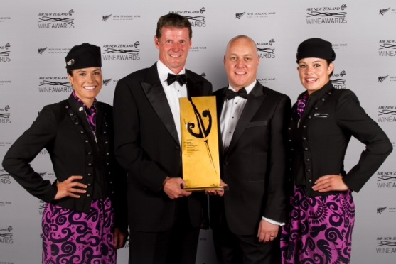 Air NZ Wine Awards Trophy winner 2013