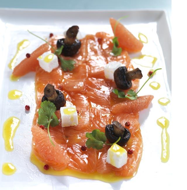Citrus cured salmon - Fresh