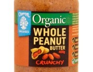 Chantal Organics Whole Peanut Butter Crunchy 400g
