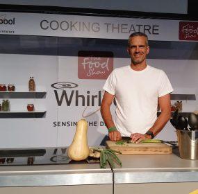 Josh Emett at the Food Show