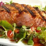 nz summer recipes bbq salmon with mango salsa
