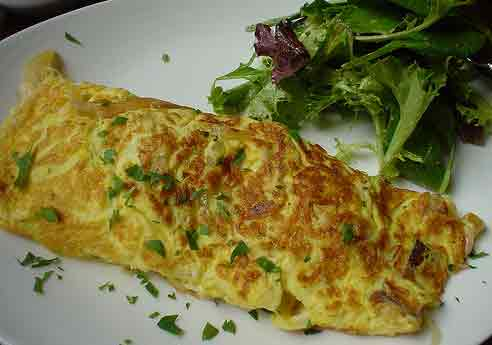 French Omelette Fresh Fast
