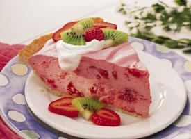 Tropical Strawberry Pie healthy food ideas