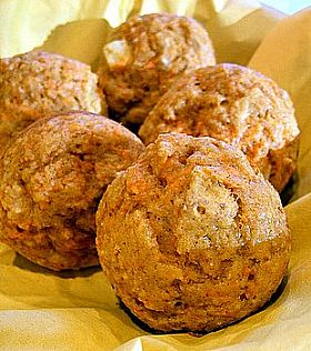 Rice Bran Oil Carrot Muffins Fresh Ideas