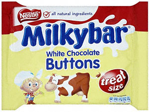 fresh fast milky bar buttons