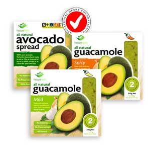 fresh food ideas avocado packs
