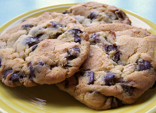 Chocolate Chip Biscuits NZ Summer Recipes