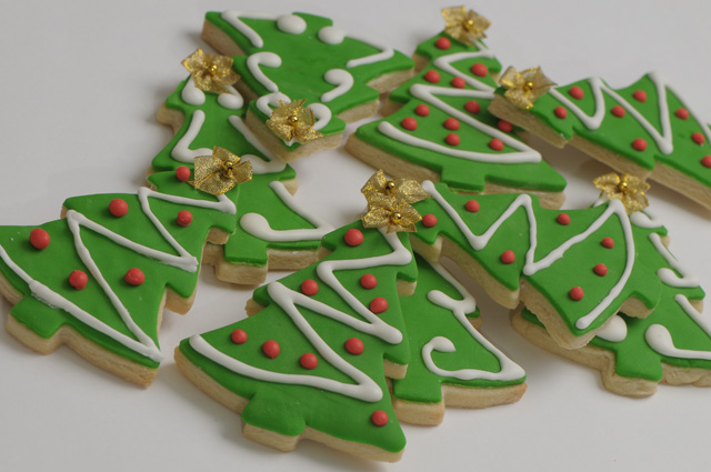 fresh food ideas christmas tree biscuits