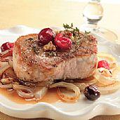 Pork Tenderloin with Cranberries and Mustard Healthy Food Ideas