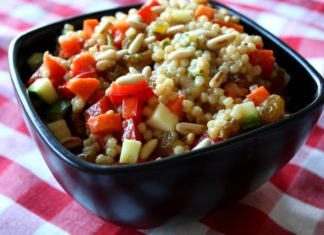 Israeli Couscous Salad healthy food ideas