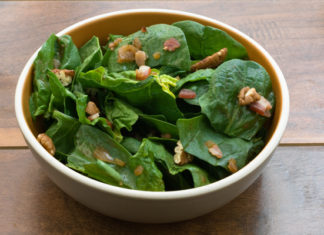 Spinach Salad Healthy food ideas