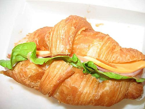 Savoury Croissant Healthy Food Ideas