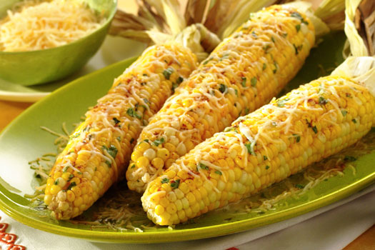 Mexican Barbecued Corn on the Cob - Fresh Ideas
