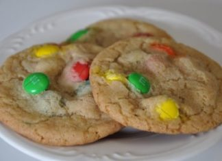 M&M Cookies fresh ideas