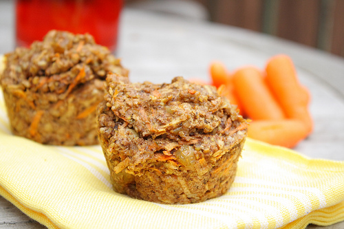 Carrot, Apple and Honey Muffins Fresh Fast