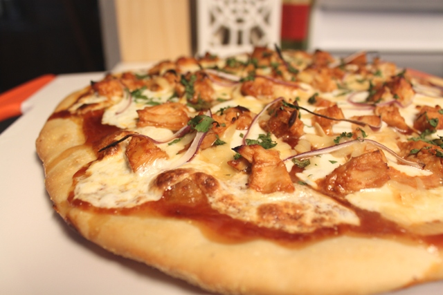 BBQ Chicken Pizza - Fresh Ideas