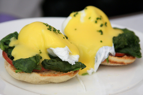 Eggs Florentine Healthy Food Ideas
