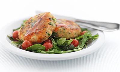 Salmon and Kumara Rissoles healthy food ideas