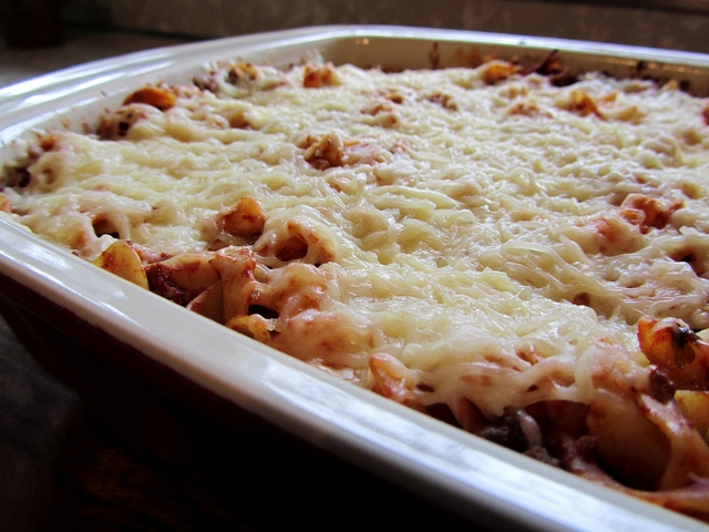 Lazy Lasagna Healthy food ideas
