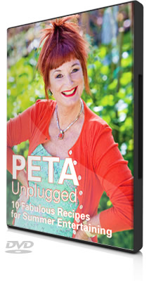 Peta Mathias and her new DVD Fresh Ideas