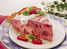 Fluffy Strawberry pie healthy food ideas