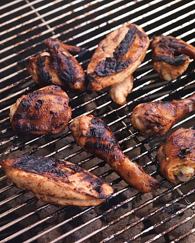 Char-Grilled Chilli Chicken - Fresh Ideas