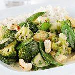 vegetarian green curry healthy food ideas