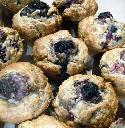 Blackcurrant Muffins healthy food ideas