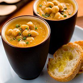 Roast Pumpkin and Chickpea soup fresh ideas