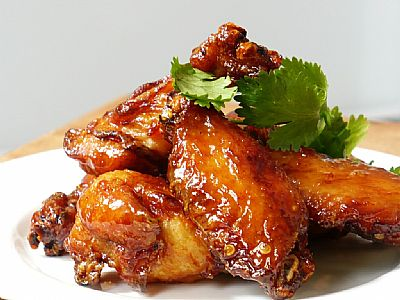 Sticky asian chicken nibbles fresh ideas