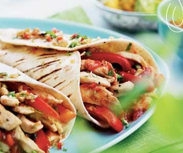 Chicken Fajitas - Fresh Ideas