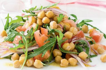 chickpea Salad Healthy food ideas