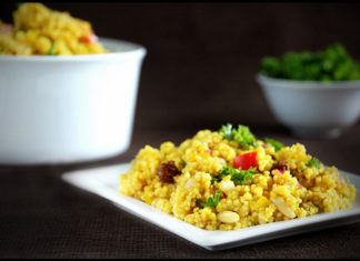 curried couscous healthy food ideas