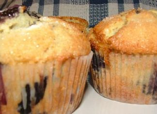 Boysenberry crunchy topped muffins fresh ideas