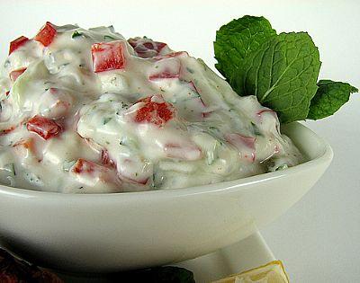 Yogurt Raita - Fresh Ideas
