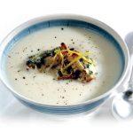 Cauliflower Blue Cheese Soup Healthy food ideas