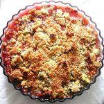 Rhubarb Crumble - Fresh Ideas