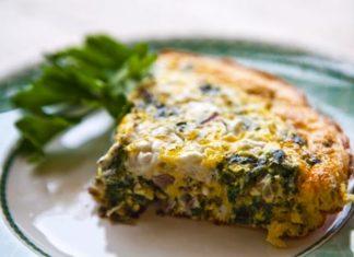 Spinach and Feta Frittata Healthy Food Ideas