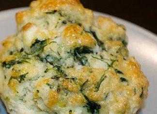 Spinach and Feta Scones healthy food ideas
