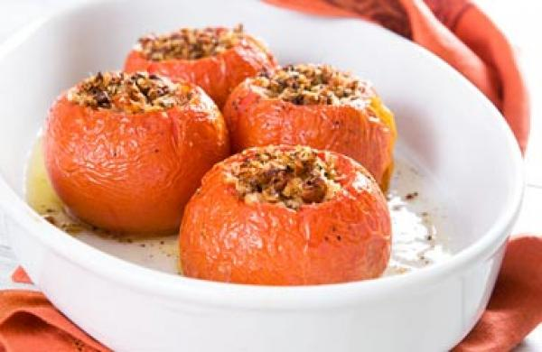 Baked Stuffed Tomatoes Healthy Food Ideas