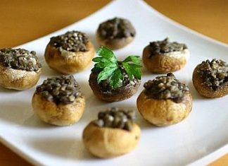 Stuffed Mushrooms with Feta - Fresh Ideas