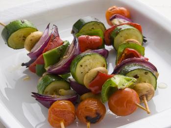 veggie kebabs healthy food ideas