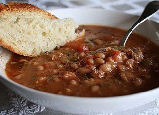 White Bean Chorizo Soup - Fresh Ideas